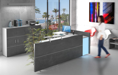 Fabricant de mobilier professionnel bureaux magasins - Mobilier de bureau montpellier ...